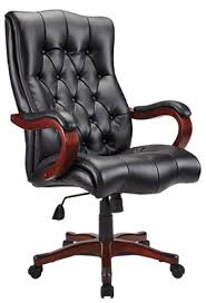 Realspace Chairs Realspace Bradford Executive Big Tall Tufted Bonded Leather Chair