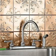 Stick On Backsplash Tiles For Kitchen Interior Wonderful Peel And Stick Backsplash Tile Smart Tiles
