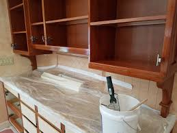 cherry mahogany kitchen cabinets kitchen cabinet refinishing project with a red cherry mahogany