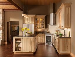 idea for kitchen cabinet rustic hickory kitchen cabinets solid wood kitchen furniture ideas