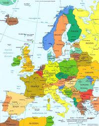Europe Time Zone Map Europe Political U2022 Mapsof Net