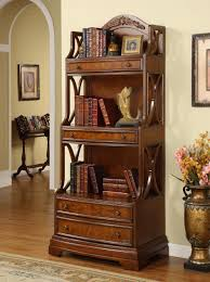 Small Rustic Bookcase Furniture Home Rustic Oak Sixth Narrow Wood Bookcase Tall Six