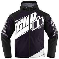 motorcycle riding clothes icon team merc jacket revzilla