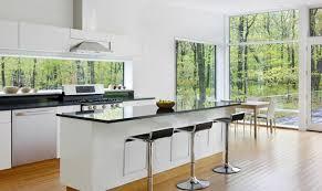cuisines deco cuisines déco cuisine noir blanc moderne osez la décoration noir