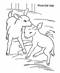 farm animal coloring pages kids kids coloring
