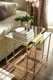 glass nesting coffee tables gold nesting tables top10metin2 com