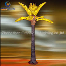 led outdoor nature looking trunk palm tree light christmas lights