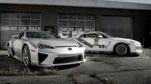lexus lfa delivery your ridiculously cool nissan gt r and lexus lfa wallpaper is here