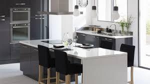 table ilot cuisine haute table ilot cuisine haute 73 ides de cuisine moderne avec lot bar