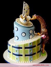 giraffe baby shower cake baby shower giraffe cake custom baby shower cakes