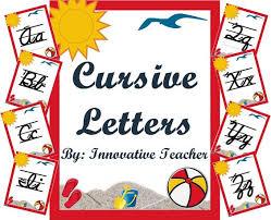 18 besten cursive writing bilder auf pinterest alphabet flash