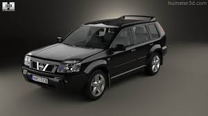 white nissan 2004 360 view of nissan x trail 2004 3d model hum3d store