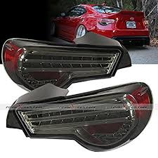 frs tail light vinyl amazon com 12 15 scion frs subaru brz lexon smoke led tail l
