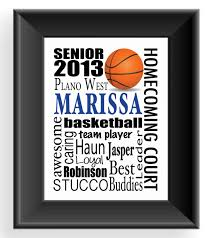 gifts for graduating seniors high school senior gifts sports graduation gift personalized