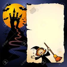 halloween funny background vector image royalty free cliparts