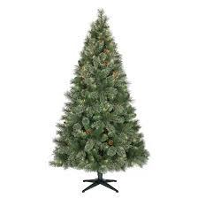 6 5ft prelit artificial tree virginia pine clear lights