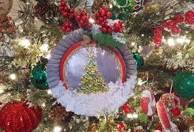 embossed metal christmas ornament creativite by erin bassett