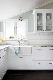 blue kitchen cabinets brown granite brown granite countertops transitional kitchen