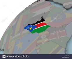 Old Sudan Flag South Africa Map Illustration Flags Stock Photos U0026 South Africa