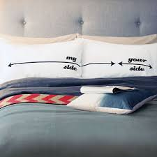 Her Side His Side Comforter His And Her Bedding Personalised Bed Sheets Notonthehighstreet Com