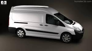 peugeot vans peugeot expert ii panel van l2h2 2011 by 3d model store humster3d
