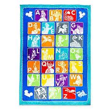 throw blanket world of disney alphabet fleece