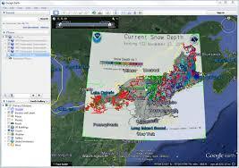 Snow Coverage Map Snow Depth Map