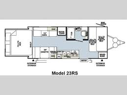 horse trailer living quarter floor plans new 2014 forest river rv rockwood roo 23rs travel trailer at