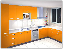 Modren Burnt Orange Kitchen Cabinets Love This Idea Of Painting - Orange kitchen cabinets