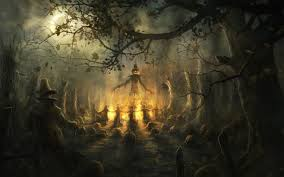 halloween monsters background halloween wallpaper v1 dark gothic wallpapers free gothic