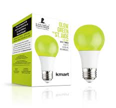 Small Led Light Bulb by Luminance St Jude Research Hospital 9w Led A 19 Lime Green Light Bulb