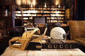 gucci home decor the infamous gilded gucci chainsaw of miss cindy gallop want