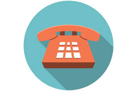 phone icon desk phone icon flat icons creative market