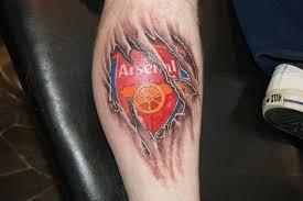 arsenal fc tattoos arsenal tattoos no1 football info