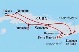 Cuban Map Cuba Tours U0026 Travel Intrepid Travel Au