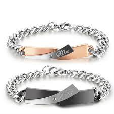 diy metal bracelet images Aziz bekkaoui love bracelets diy unique gift couple bracelet for jpg