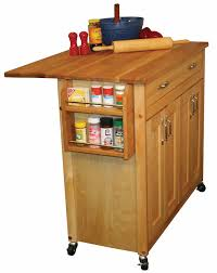 kitchen butcher block islands on wheels fence staircase