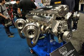 devel sixteen pri show steve morris engine u0027s quad turbo v16 heads back to the