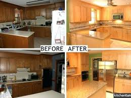 staining kitchen cabinets before and after restain kitchen cabinets darker lighter color staining refinishing
