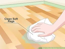 3 ways to wax buildup from floors wikihow