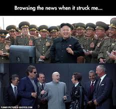 Kim Jong Un Snickers Meme - kim jong un is dr evil funny pictures and quotes