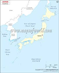 China Physical Map by Maps Physical Map Japan