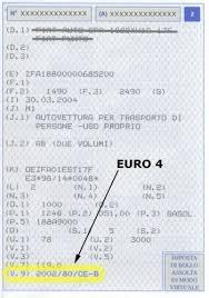 norme si e auto b a quale categoria appartiene il mio veicolo informambiente
