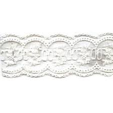 offray accessories berwick offray antiquity white lace ribbon walmart