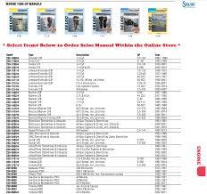 seloc service repair manuals perfprotech com