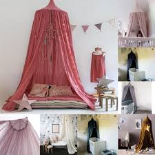 Hanging Canopy by Hang Round Princess Kids Girls Bed Netting Mosquito Net Canopy For