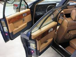 aston martin lagonda interior rare rides the 1984 aston martin lagonda a paragon of reliability
