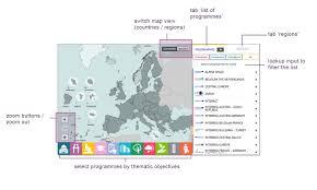 Map View About The Map U2022 Interreg Eu