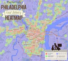 map of philly the map of philly food delivery by rentenna com maps