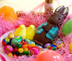easter bunny candy photos of 100 calories of easter candy popsugar fitness